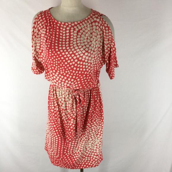 Ice Dresses Dress Cold Shoulder Pattern Knit Belt Poshmark